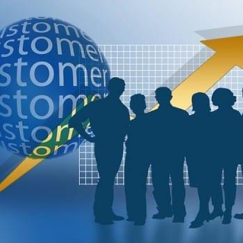 Sales force illustration